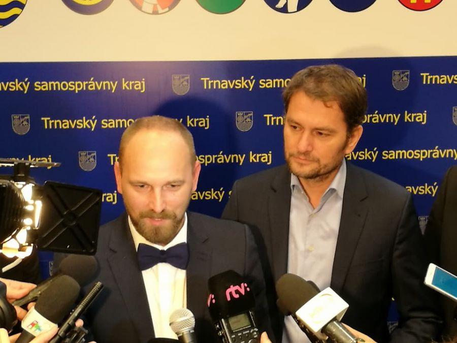 Jozef Viskupič včera zložil sľub a prevzal mandát predsedu Trnavského samosprávneho kraja, foto 2