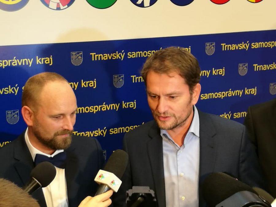 Jozef Viskupič včera zložil sľub a prevzal mandát predsedu Trnavského samosprávneho kraja, foto 3