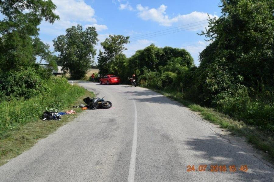 Polícia zasahovala pri dvoch závažných dopravných nehodách s účasťou motocyklistov, foto 1
