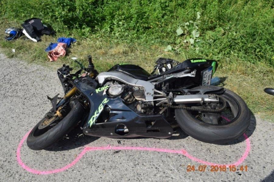 Polícia zasahovala pri dvoch závažných dopravných nehodách s účasťou motocyklistov, foto 5