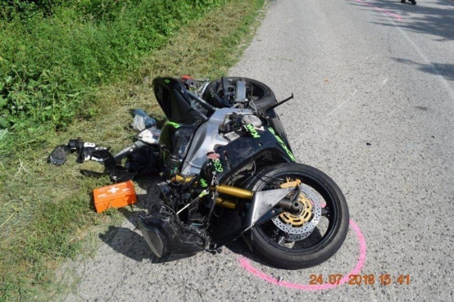 Polícia zasahovala pri dvoch závažných dopravných nehodách s účasťou motocyklistov, foto 7