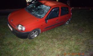 Dopravná nehoda v Trnavskom kraji, Dve osobná autá a cyklista s 1,8 promile