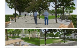 Pozrite sa ako vyzerá vizuálny projekt revitalizácie ihriska na Ulici G. Dusíka