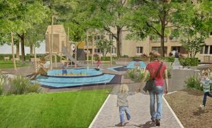 Architekta pripravila projekt revitalizácie dvorov na Hospodárskej ulici, ostanú ihriská i zeleň