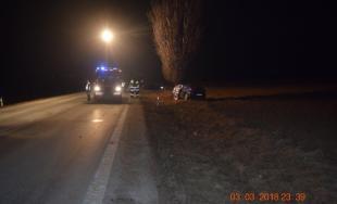 V sobotu, 3. marca, vyhasol život 24-ročného vodiča pri tragickej nehode v okrese Galanta