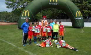 Na krajskom kole jubilejného 20. ročníka McDonald's Cupu si zmeralo sily 7 tímov základných škôl