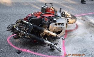 Na ceste za obcou Banka došlo k závažnej nehode 33-ročného motocyklistu a dodávky